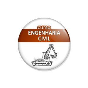 """crachá """"curso ENGENHARIA CIVIL"""""""