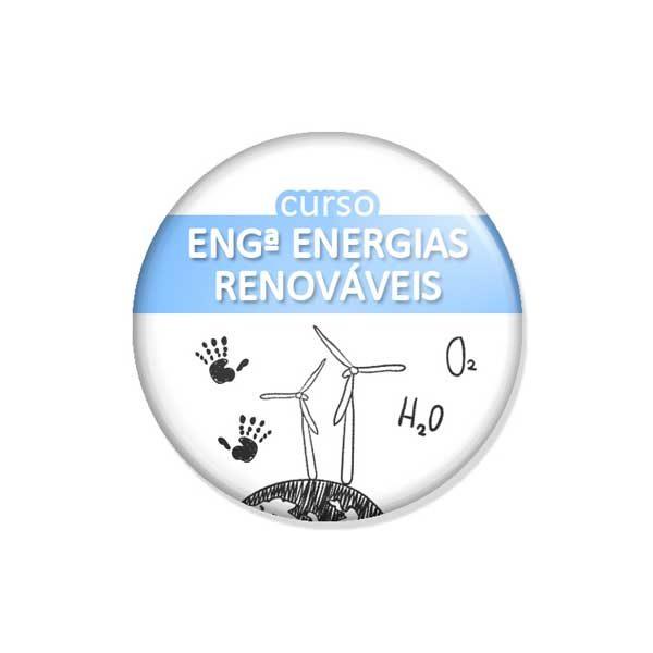 "crachá ""curso ENGª ENERGIAS RENOVÁVEIS"""
