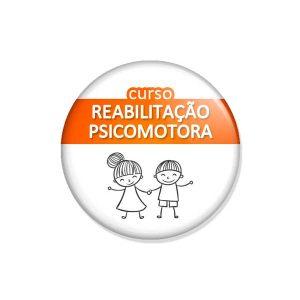 """crachá """"curso REABILITAÇÃO PSICOMOTORA"""""""