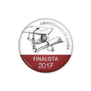 """crachá """"FINALISTA 2017"""""""