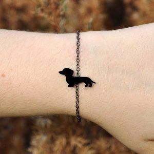 pulseira baixote preto