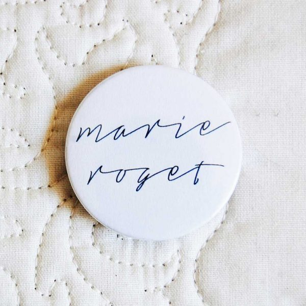 """espelho de bolso """"MARIE ROGET"""""""