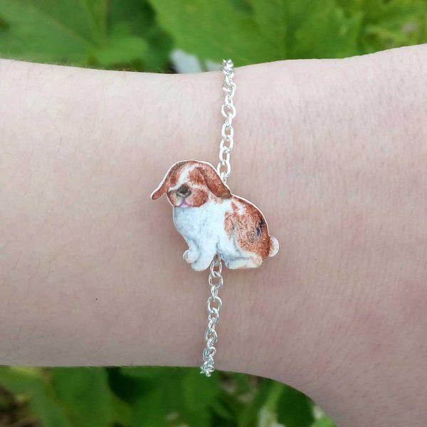 pulseira coelhinho personalizada