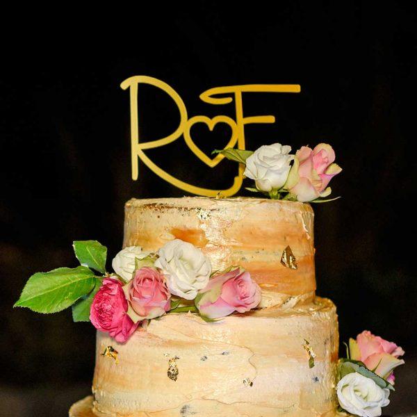 topo de bolo casamento raquel caixa & filipe carretas