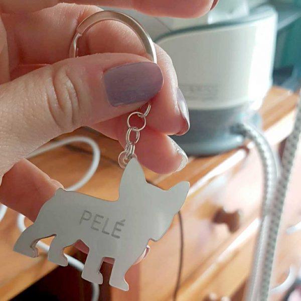 """porta-chaves """"pelé"""""""