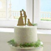 topo de bolo casamento carina t. & josé p by sweet sucrée